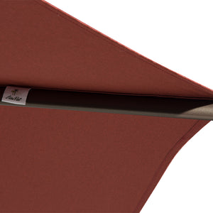 Abba Patio Cover Replacement for 11-Feet Hanging Cantilever Umbrella, Red (FRAME not Include)