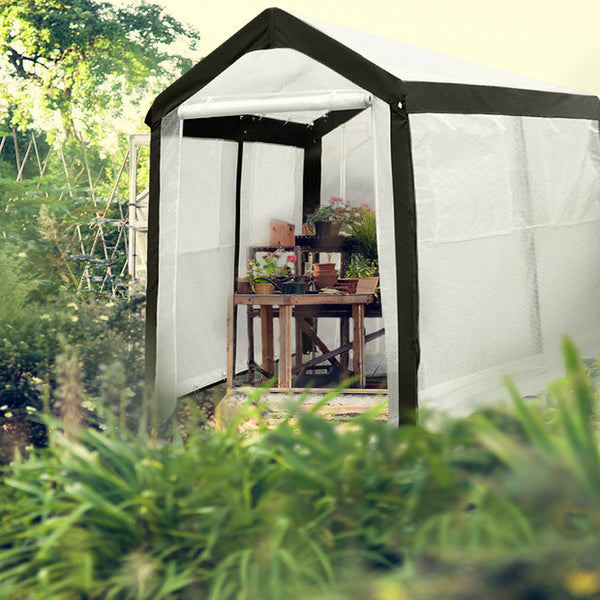 Abba Patio 6 X 8 Feet Large Walk In Greenhouse With