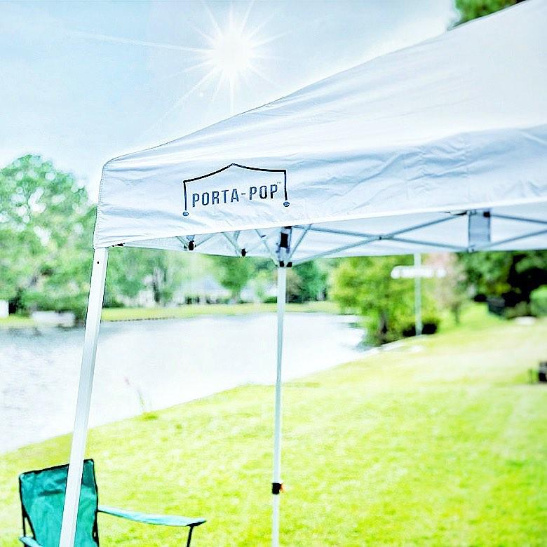Abba Patio Porta-Pop One Button Pop Up Canopy