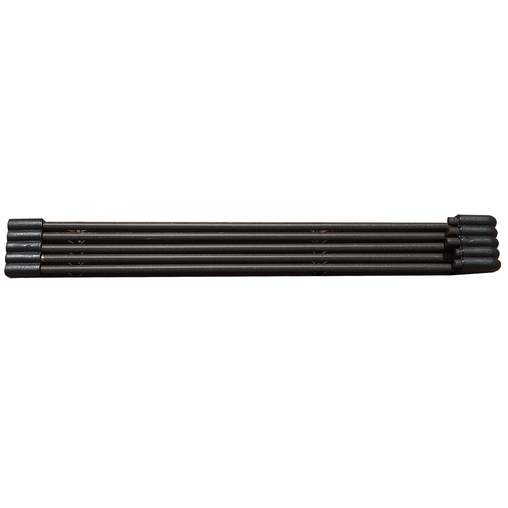 Edging Coil Recycled Plastic And Wood Composite Fence Garden Landscape Border, Black