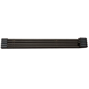 Abba Patio Edging Coil Recycled Plastic And Wood Composite Fence Garden Landscape Border, Black