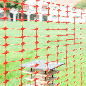 4ft. H x 100 ft. W Guardian Safety Netting Snow Fencing
