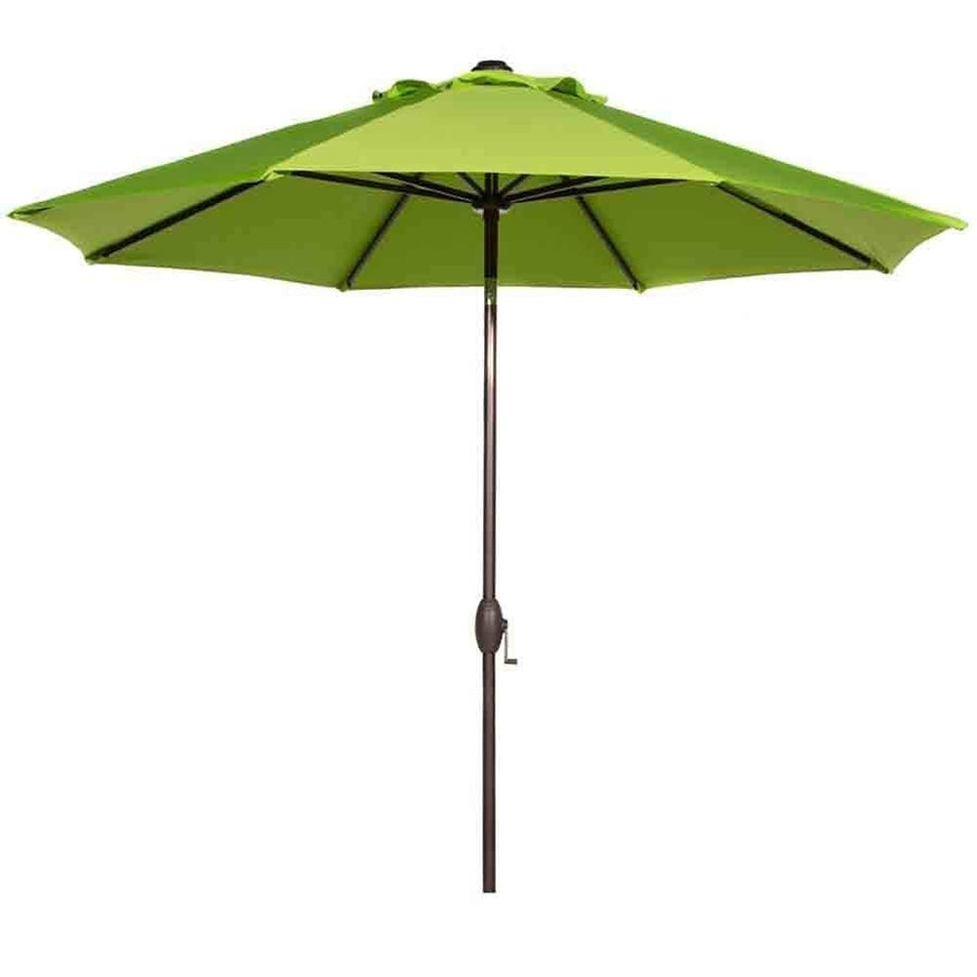 Abba Patio Outdoor Patio Umbrella 9 Feet Patio Market Table Umbrella with Push Button Tilt and Crank