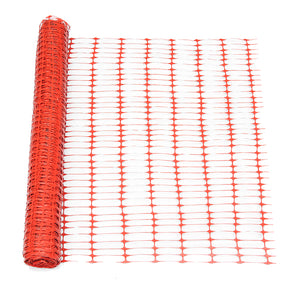 4ft. H x 100 ft. W Feet Guardian Safety Netting, Orange
