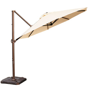 11 Feet  Sunbrella Offset Cantilever Patio Umbrella