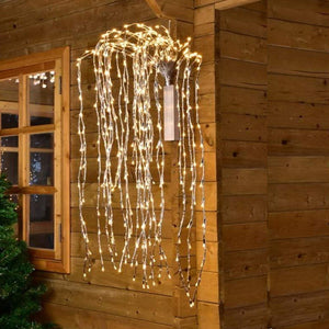 220 LED String Lights, Plug in Starry Twinkle Light , Warm White