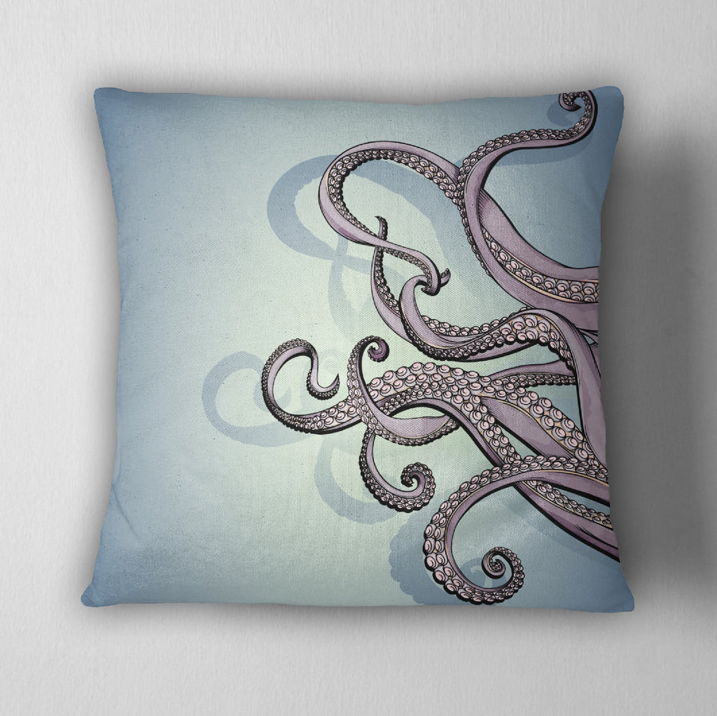 Octopus Tentacle Decorative Throw Pillow