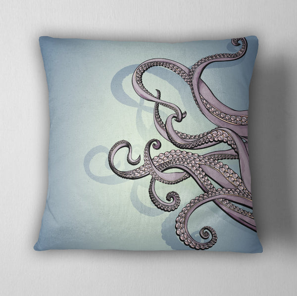 Octopus Tentacle Decorative Throw Pillow Cover