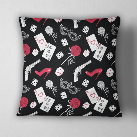 Mob Style Gangster Decorative Throw Pillow