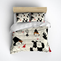 Queen of Card Players Bedding