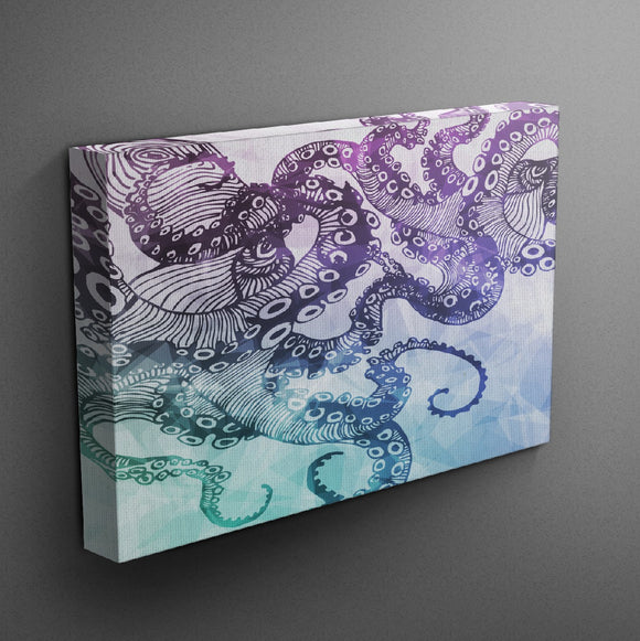 Octopus Gallery Wrapped Canvas