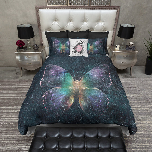 Galaxy Butterfly Bedding
