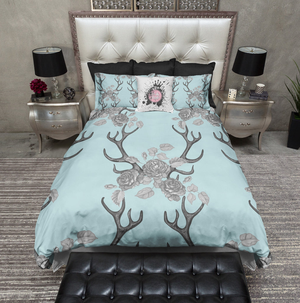 Buck Antler Rose Bedding