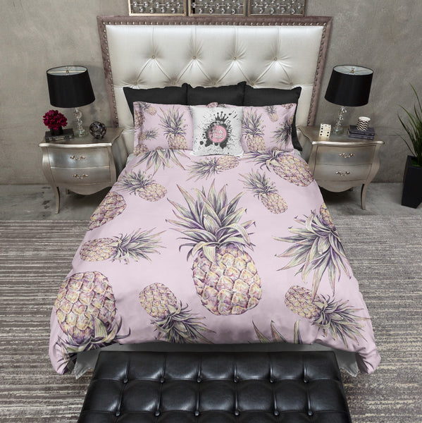 Tropical Pineapple Bedding Ink And Rags