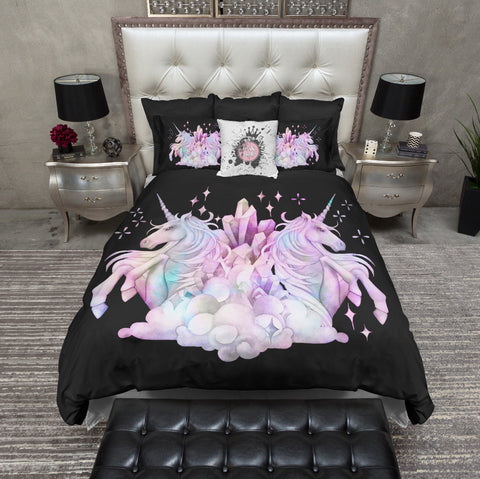 Swimming Mermaid Pastel Duvet Bedding Sets Ink And Rags