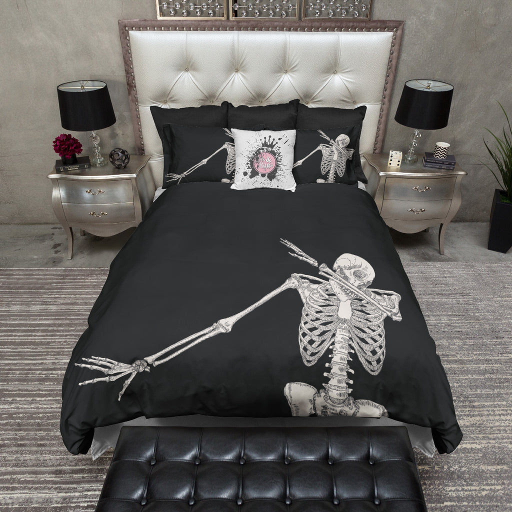 Skeleton Dab Bedding Collection