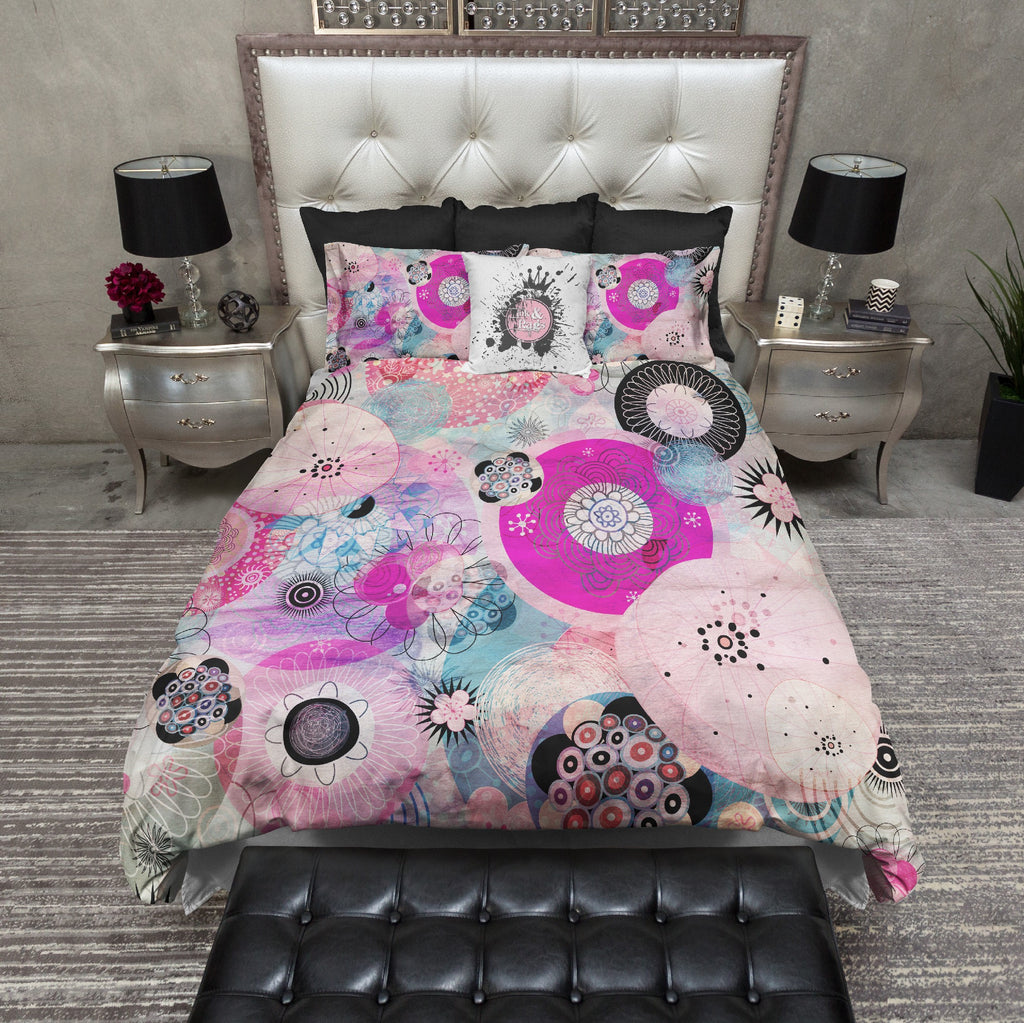 Boho Gypsy Flowers Bedding Collection