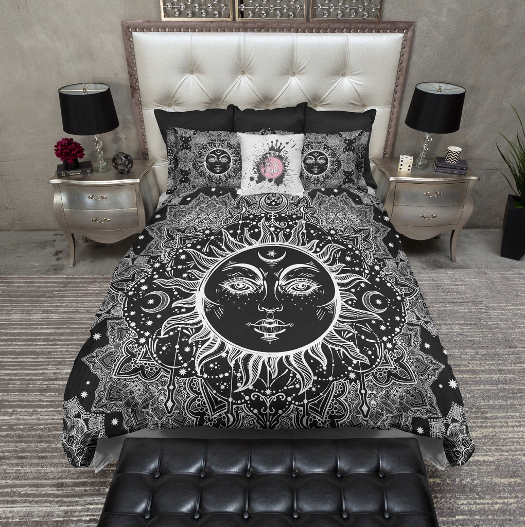 Bohemian Sun Mandala Bedding Collection