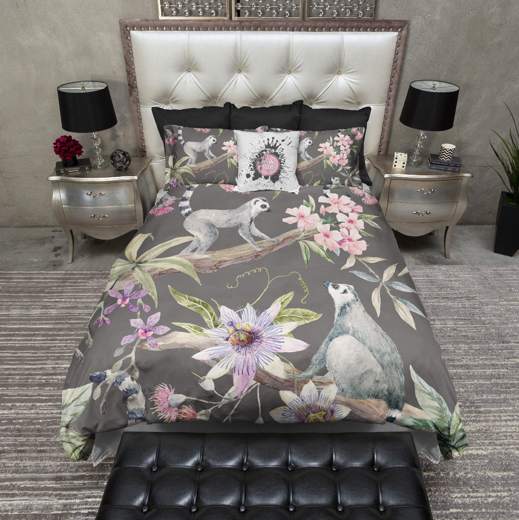 Passionflower Lemur Bedding Collection