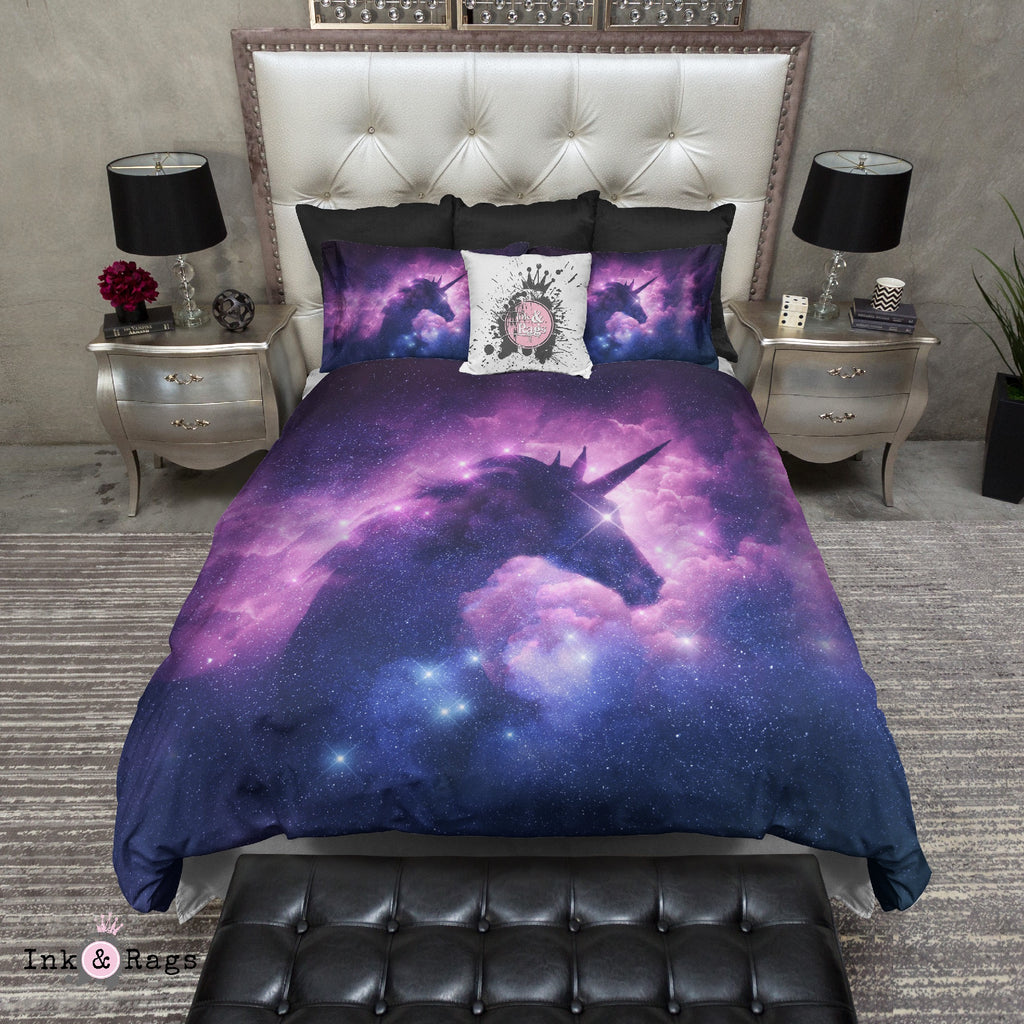 Unicorn Galaxy Bedding