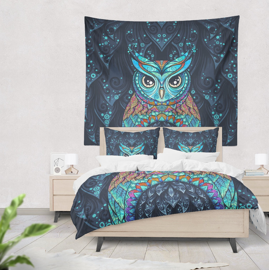 Gypsy Owl Wall Tapestry