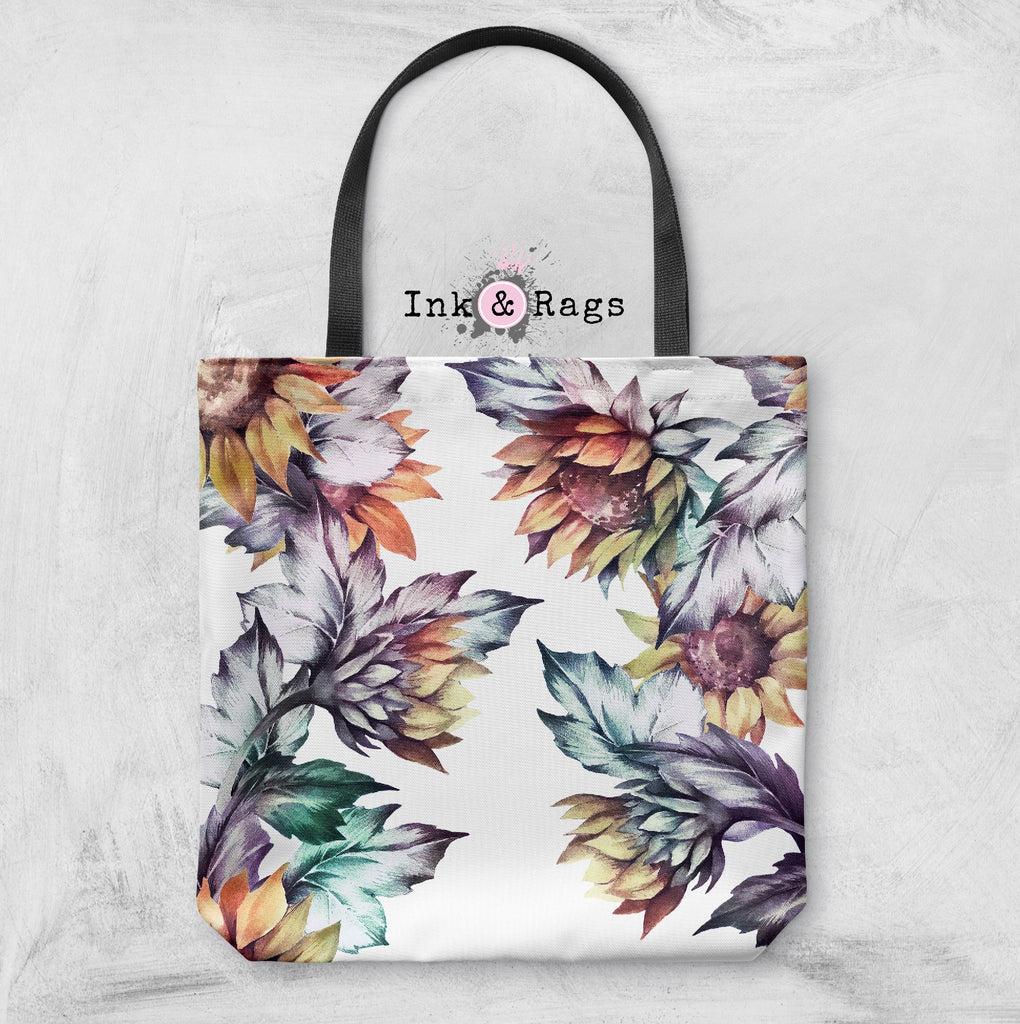 Sunset Sunflower Casual Tote