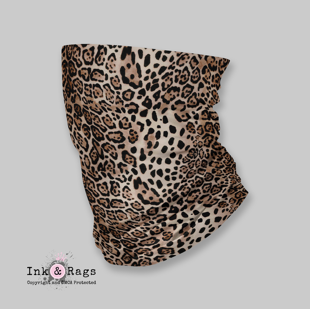 ADULT Wind and Sneeze Guard Raw - READ FULL DESCRIPTION - Leopard