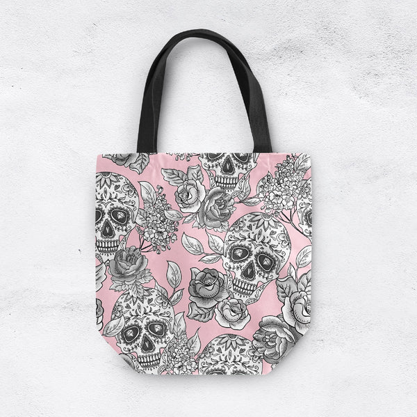 The Original Pink Sugar Skull Casual Tote