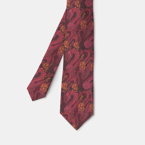 Fire Dragon Necktie