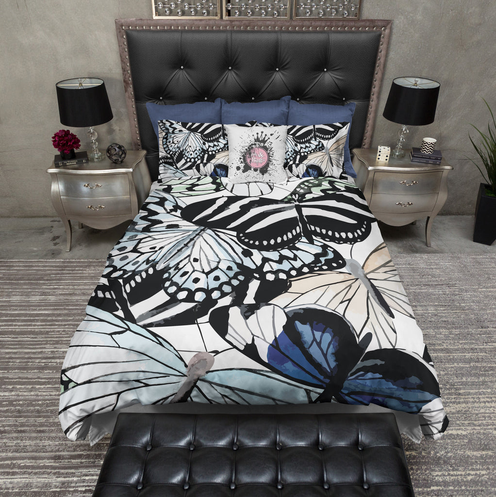Animal Print Butterfly Bedding