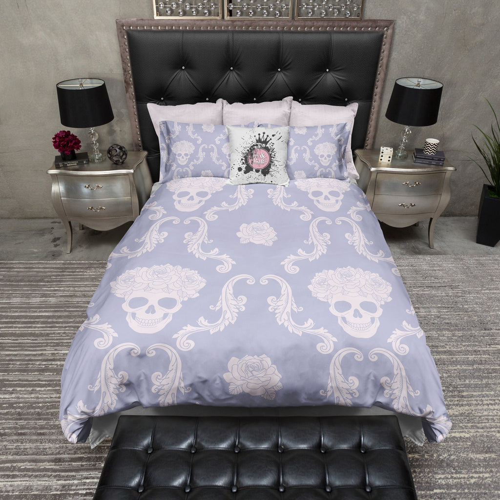 Lavender Rose Crown Bedding Collection