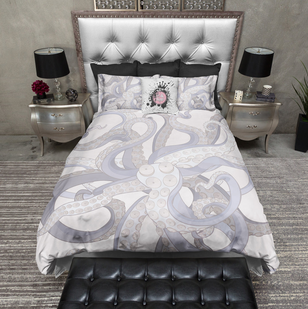 Lavender Octopus Tentacle Bedding Collection