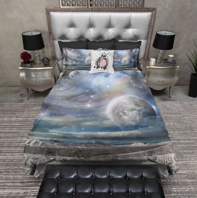 Planet to Planet Galaxy Duvet Bedding Sets