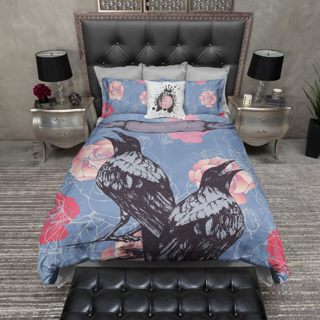 Together Forever Raven Rose Bedding