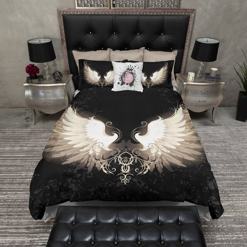 Fallen Wings Bedding Collection