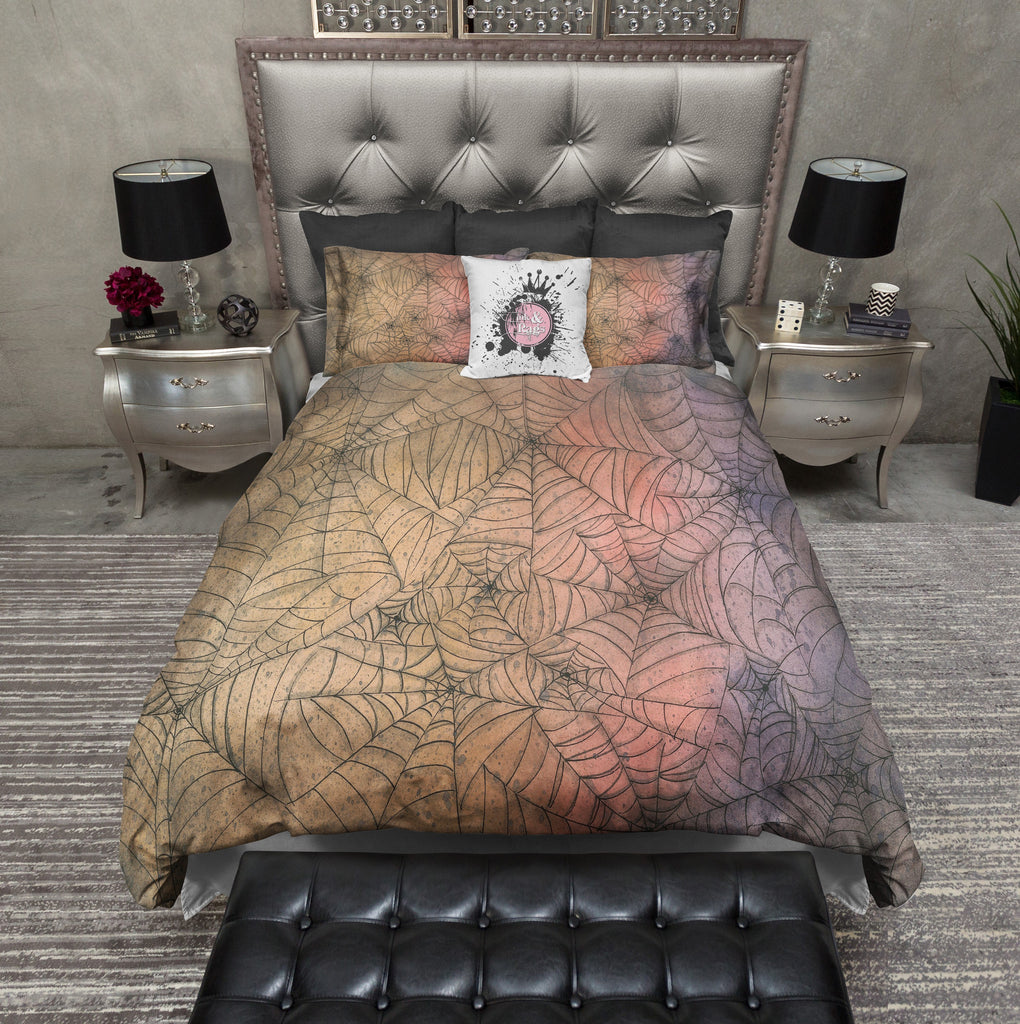 Ombre Spider Web Bedding Collection