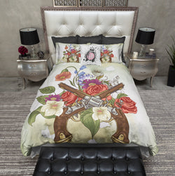 Guns n Roses Color Duvet Bedding Sets