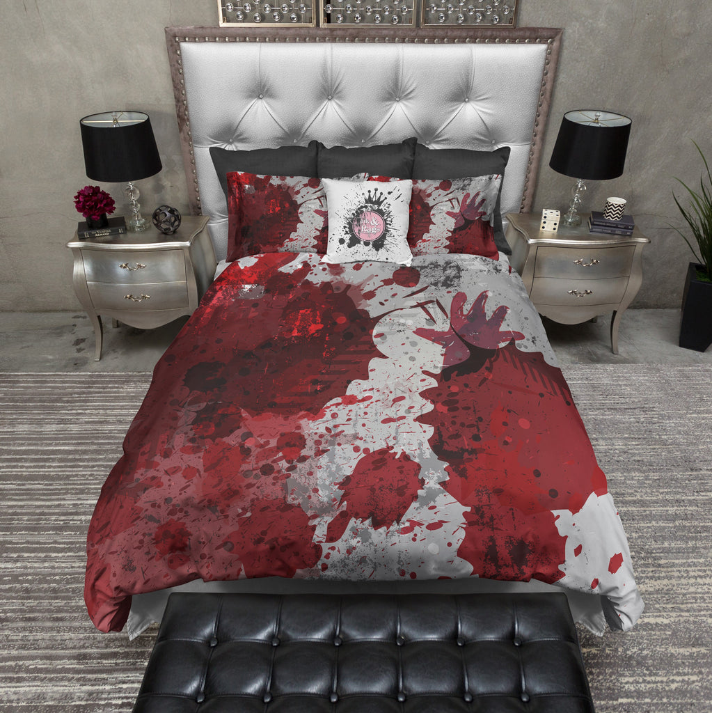 Crime Scene Horror Duvet Bedding Sets