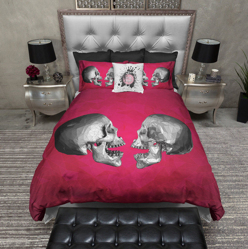 Talking Heads Modern Skull Duvet Bedding Sets
