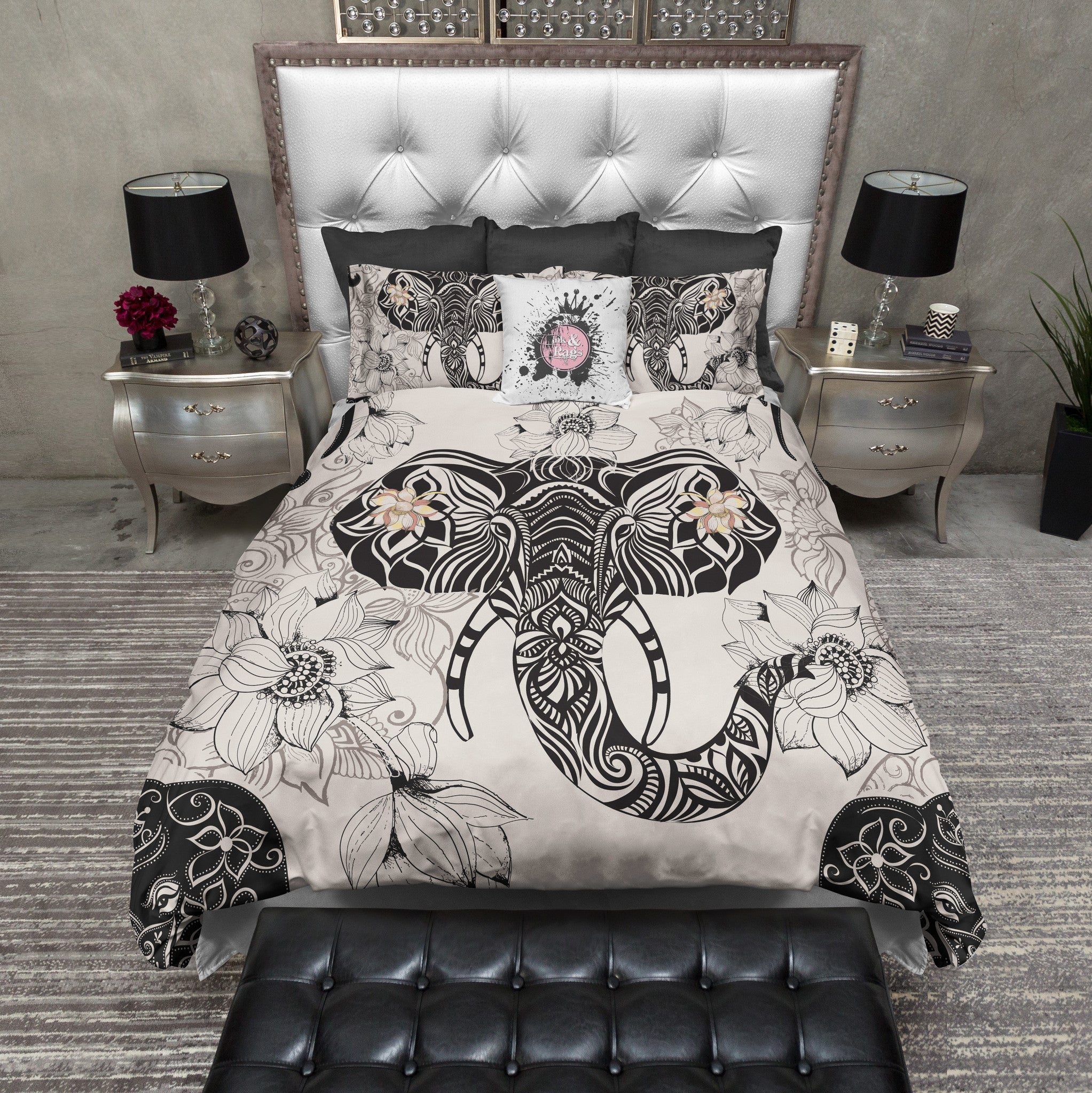 luna of medallion elephant ophelia yaella duvet circle twin etsy zihna mini galaxy and covers thinking pinstripe mesa urban blue coral teal geo black modern raja petra xl magical outfitters cover tassel dhara size bedding set comforter full tent uk floral duvets devi