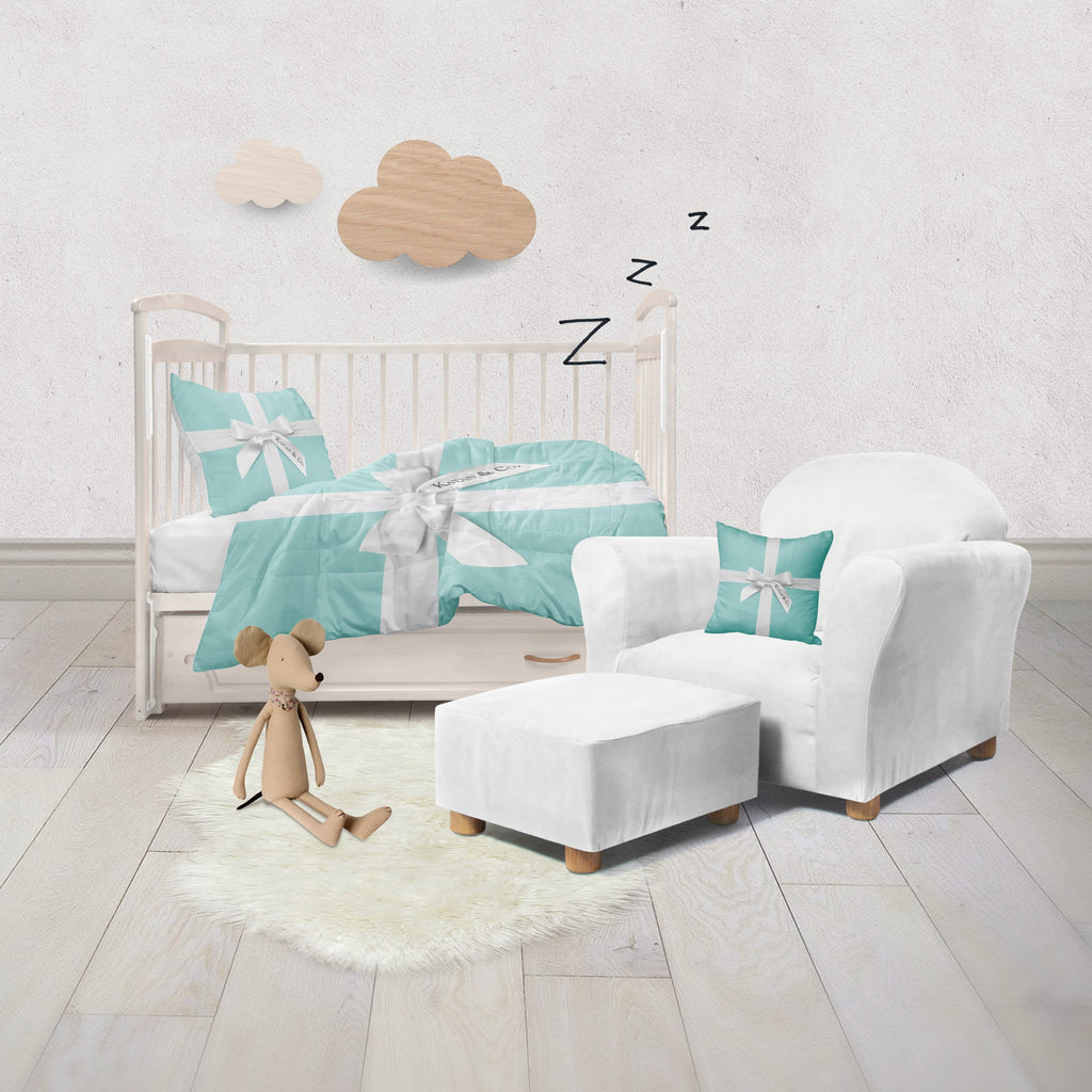 Name & Co Personalized Fashion Crib and Toddler Bedding Collection