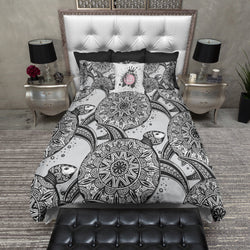 Tribal Sea Turtle Bedding