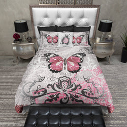 Grunge Butterfly Bedding