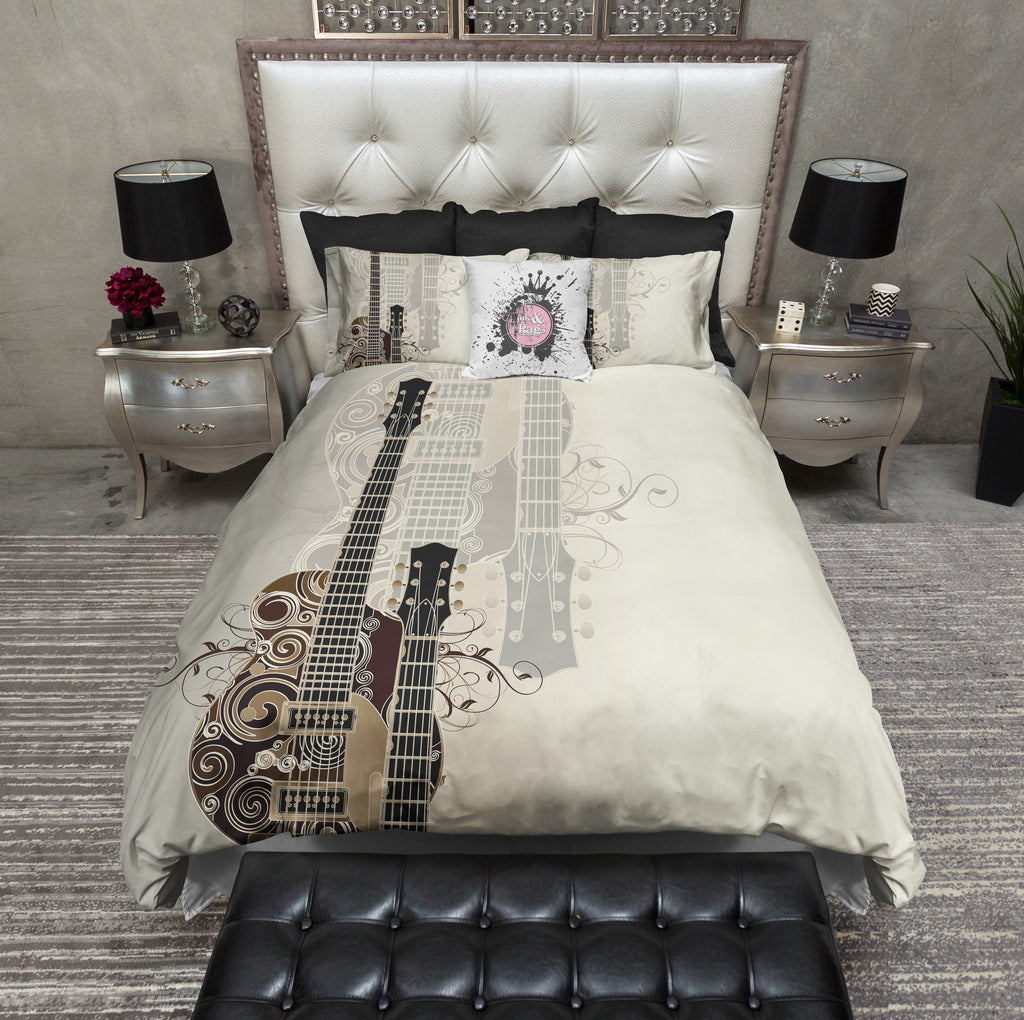 Guitar Rock Duvet Bedding Sets