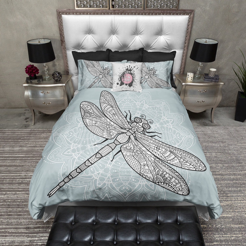 Dragonfly Mandala Bedding