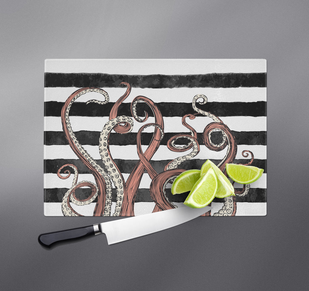 Tentacle Stripe Cutting Boards