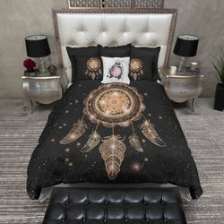 Starry Night Bohemian Dreamcatcher Bedding