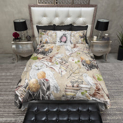 The Golden Trio HP Inspired Bedding