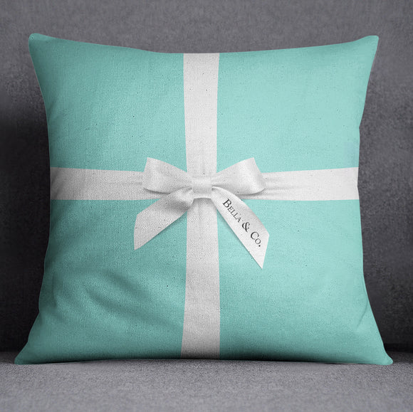 Name & Co Personalized Fashion Decorative Throw and Pillow Set