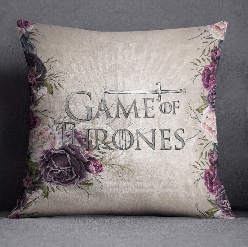 GOT Inspired Dragon Decorative Throw and Pillow Cover Set
